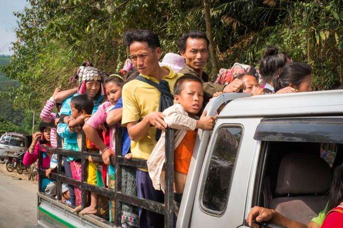 Arriving at the Thalat Nat